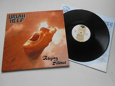 Uriah Heep - Raging Silence, rare LP, looks like unplayed ARCHIVCOPY with OIS  T