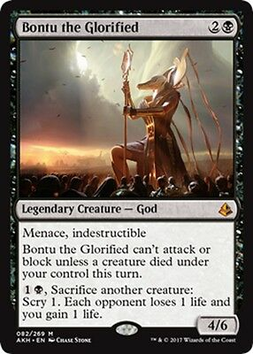 MTG Magic - (M) Amonkhet - Bontu the Glorified - NM/M