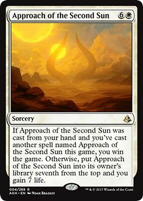 MTG Magic - (R) Amonkhet - Approach of the Second Sun - NM/M
