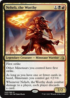 MTG Magic - (R) Amonkhet - Neheb, the Worthy - NM/M