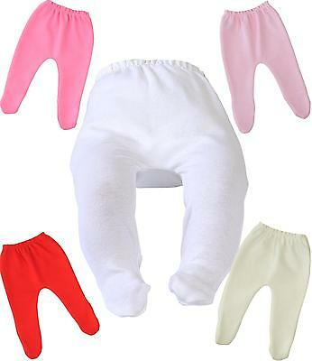 BabyPrem Baby Clothes PREEMIE Girls Footed Stockings Cotton Tights 0.68 - 3.4kg