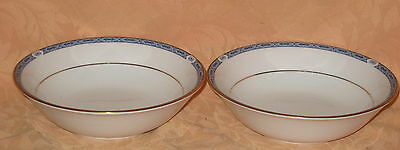 """2 x Boots Blenheim Pattern Fine China 6.5"""" Soup / Cereal Bowls - MORE AVAILABLE"""