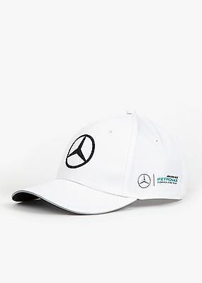 Mercedes AMG Petronas F1 Official Adults Team Cap - 2017 - White