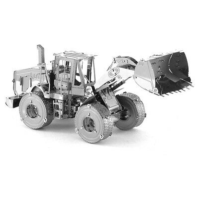 Metal Earth CAT Caterpillar Four Wheel Loader 3D Laser Cut Model KIT