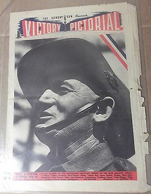 1945 The Sunday Sun ~ Sydney ~ 'victory Supplement' ~ Full Supplement 8 Pages