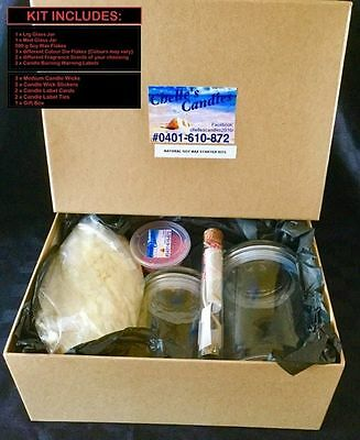 Natural Soy Wax Starter Kits