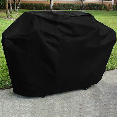 Portable Waterproof BBQ Grill Black Cover Dust Rain Anti Protective Shield XP