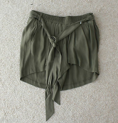 M&S Maternity & Beyond Sizes 10 12 14 20 Khaki Shorts