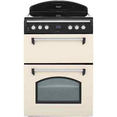 Leisure GRB6CVC Gourmet Free Standing Electric Cooker with Ceramic Hob 60cm