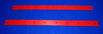 "Advance 2 Blade Squeegee Set 56314865  For Adgressor 35"" Electric Rider Scrubber"