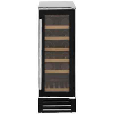 Baumatic BWC305SS Free Standing Wine Cooler Fits 19 Bottles Black New from AO