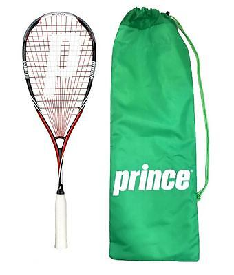 Prince Pro Airstick Lite 550 Squash Racket + Cover RRP £170