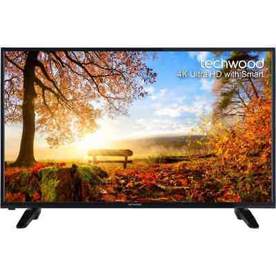 Techwood 49AO4USB 49 Inch Smart LED 4K Ultra HD Freeview HD TV 2 HDMI New from