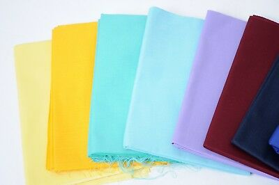 Plain Polyester Cotton Twill 210 GSM Fabric poly cotton clothing fabric Craft