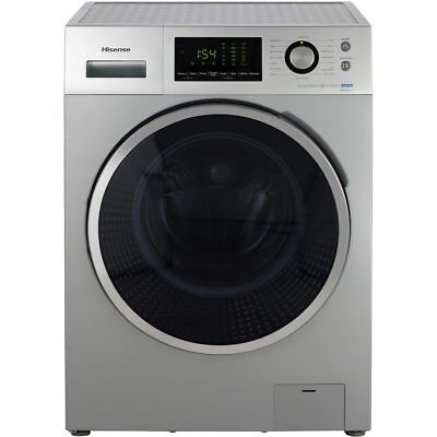 Hisense WFP8014VS P Series A+++ 8Kg Washing Machine Silver New from AO