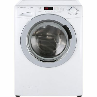 Candy GVW485DC Alise Free Standing 8Kg Washer Dryer White New from AO