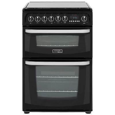 Cannon by Hotpoint CH60DHKFS Free Standing Dual Fuel Cooker with Gas Hob 60cm
