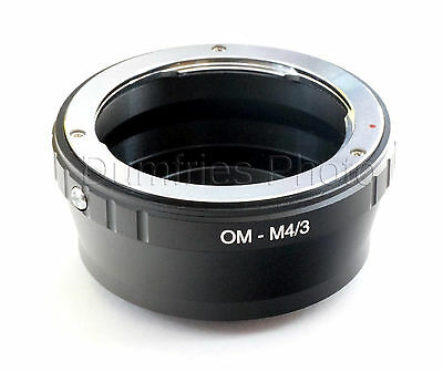 Quality Olympus OM Lens to M4/3 Micro Four Thirds Mount Adapter
