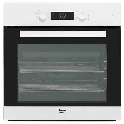 Beko BIF22300W EcoSmart Built In Electric Single Oven 59cm Single Cavity White