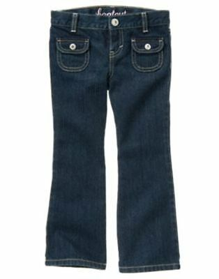 Gymboree CHERRY CUTE gem pocket jean NWT 4 adjustable waist