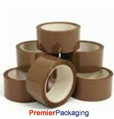 Brown Sealing Tape 48mm x 66M