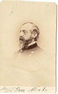 Civil War General George G. Meade CDV