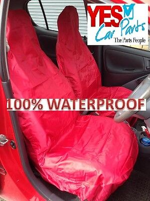 Bmw X1 Crossover Full Red 1+1 Car Van Seat Cover Set