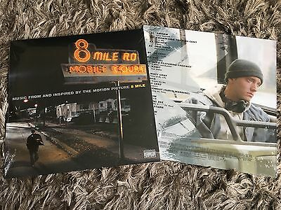 8 Eight Mile Soundtrack - Eminem Lose Yourself - Sealed Double 180g Vinyl LP