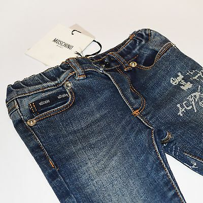 Boys Designer Jeans by Moschino Baby - 3-6 months | 6-9 months | 9-12 month