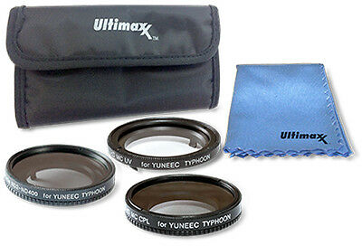 Yuneec Q500 4K and Typhoon H 5PC Filter Kit by ULTIMAXX!! BRAND NEW!!