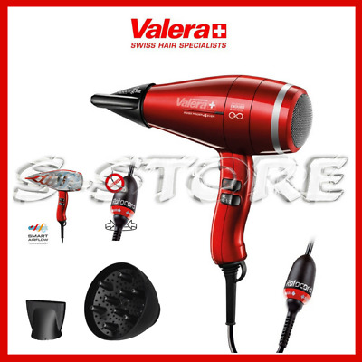 Valera Swiss Power4Ever Phon Asciugacapelli Hairdryer 2400W Rotocord