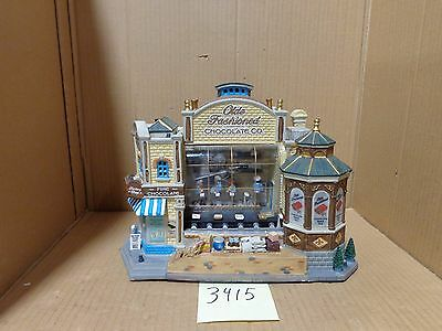 Lemax Village Collection Olde Fashioned Chocolate Co. 95888 As-Is 3415