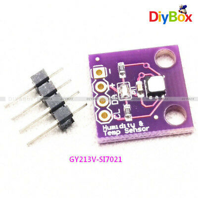 1PCS Si7021 Industrial High Precision Humidity Sensor with I2C Interface M58