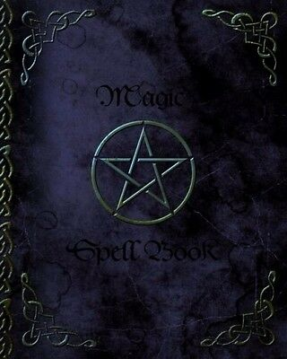 Witchery Magic Spell Book Invocations Of Shadows Grimoire Blank Spells Records