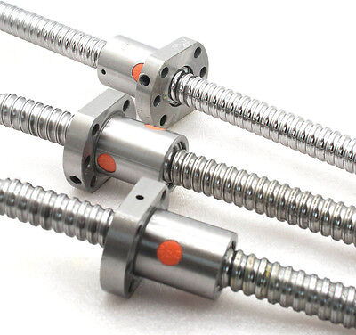 3 new anti backlash ballscrew RM1605-550/650/650mm-C7 end unmachined(A)