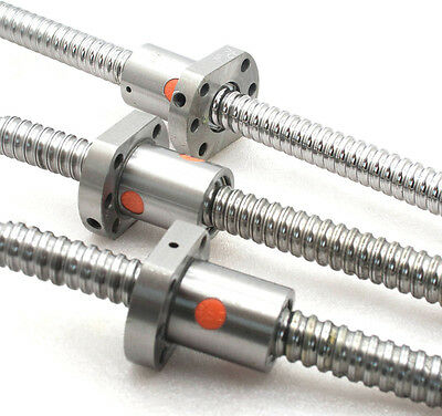 3 new anti backlash ballscrew RM1605-530/450/450mm-C7 cnc end unmachined(B)