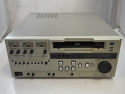 Panasonic AG-7650P Super VHS Video Cassette Player Works! Free Shipping!
