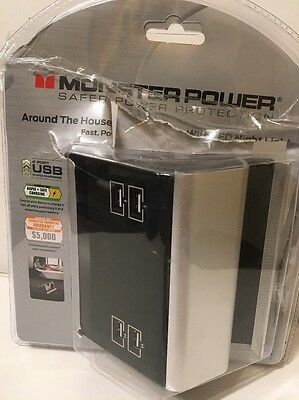 NEW** Monster 4 Port Rapid Power Charging Station with Device Dock