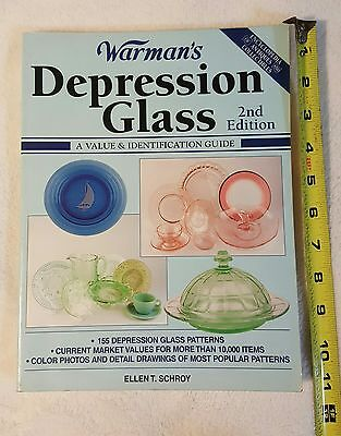 Warman's Depression Glass 2nd Edition Collector Encyclopedia book
