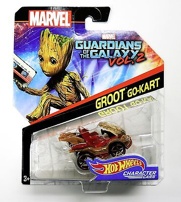Groot Go Cart Guardians of the Galaxy Vol. 2 Hot Wheels, Marvel Character Car