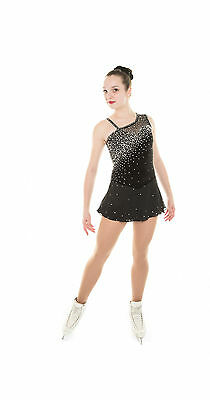 New Competition Skating Dress Signature Xpression 1670 Crystal Adult medium