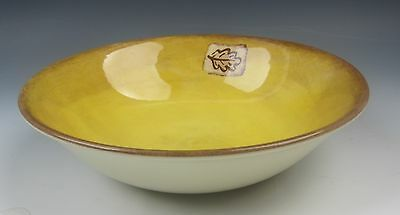 Wood & Sons China LEAF-GOLD Coupe Soup Bowl EXCELLENT