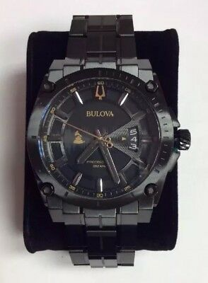 BULOVA Men's Precisionist GRAMMYS Special Edition Chronograph WATCH 98B295