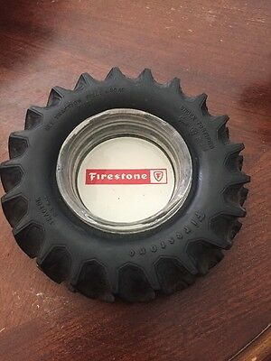 Vintage Firestone Tractor Tires Tire Ash Tray Nice