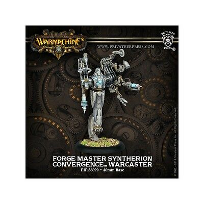 Warmachine Convergence Warcaster Forge Master Syntherion