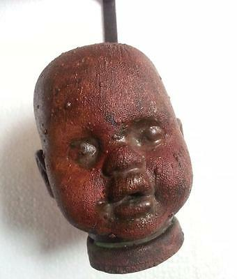 Vintage Baby Doll Head Industrial Mold  Copper Or Brass