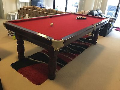 PRICE REDUCED! 8ft Pool Table & Accessories, Blacktown NSW 2148