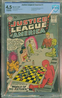 Justice League #1 [1961] Certified[4.5] Fabulous 1St Edition