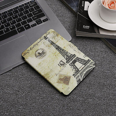 Colored Drawing Pattern Ultra Thin Leather Case Fashion Design Bracket LK F5