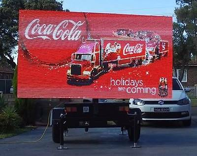 Huge VMS LED Full Color Screen Trailer - Cost Price - 3 Month Old